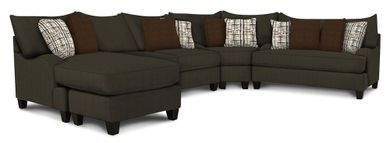 Master Ash Three Piece Sectional