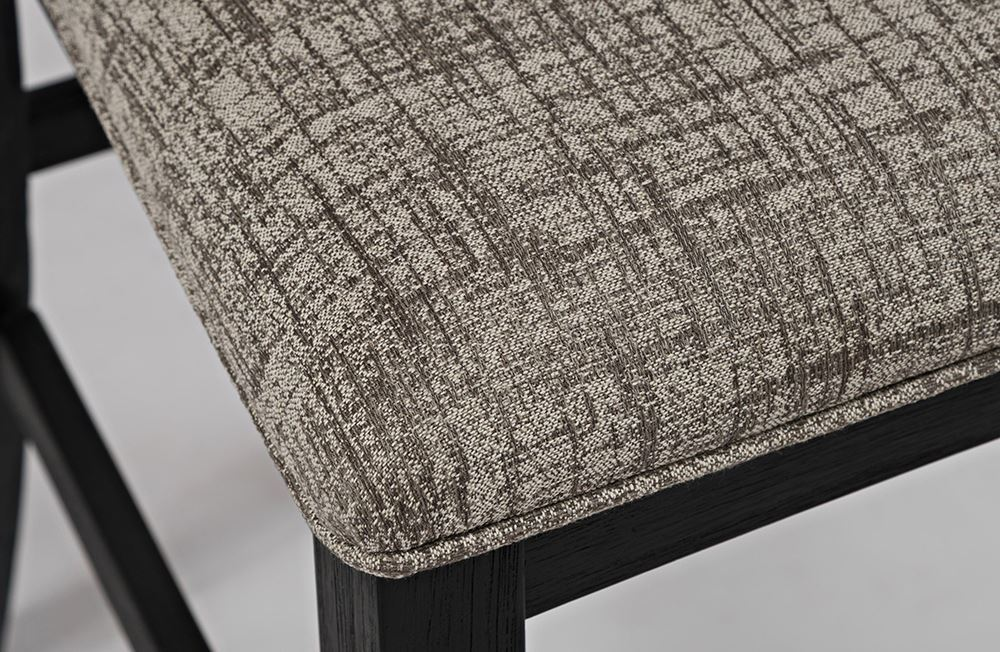 Picture of Altamonte Charcoal Counter Upholstered Stool