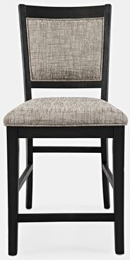 Altamonte Charcoal Counter Upholstered Stool