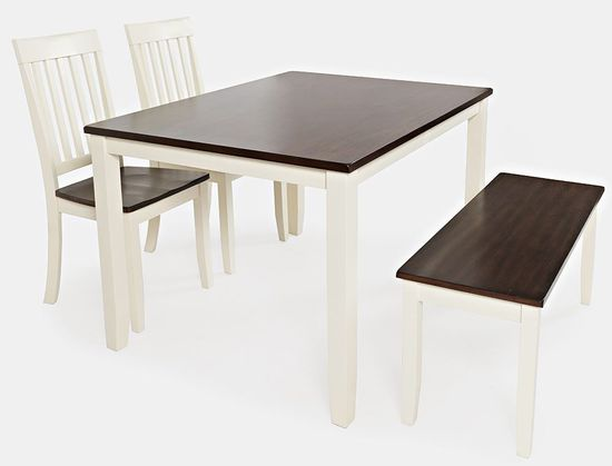 Astonishing Decatur Table With Two Chairs And One Bench Gmtry Best Dining Table And Chair Ideas Images Gmtryco