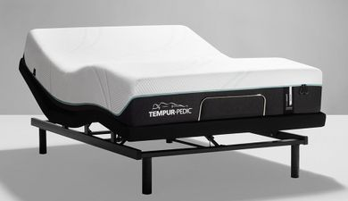 Tempur-Pedic Pro Adapt Medium Ease Adjustable Base-Twin XL Mattress Set