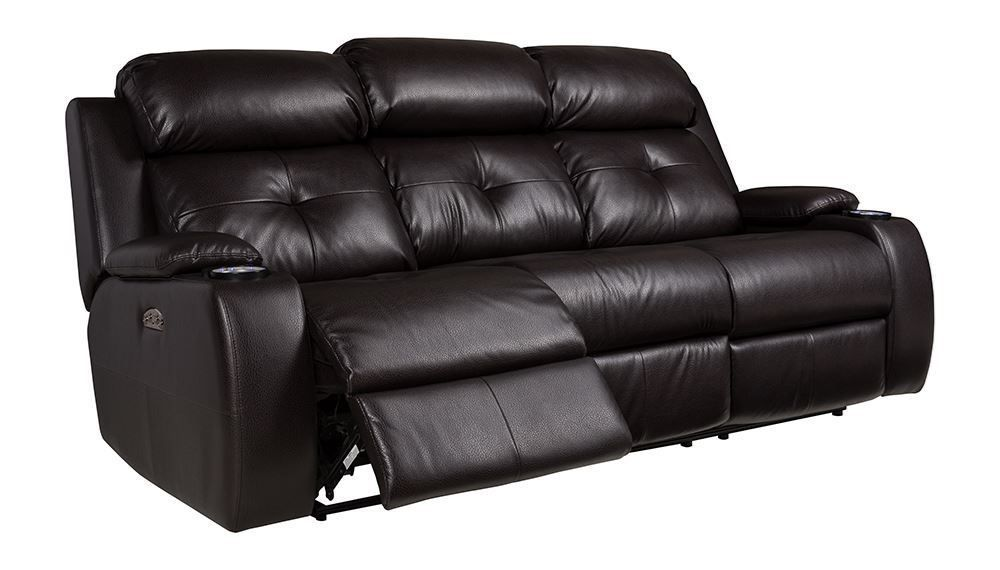 Picture of Diego Mocha Power Reclining Sofa with Drop Table