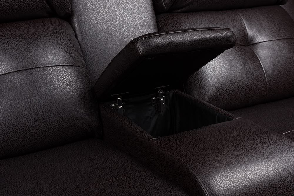 Picture of Diego Mocha Power Loveseat