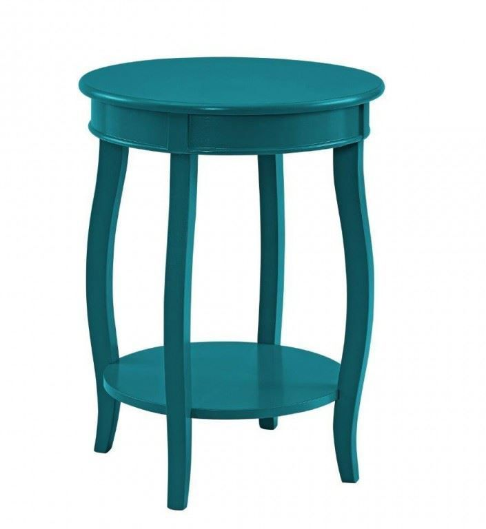 Picture of Rainbow Teal End Table