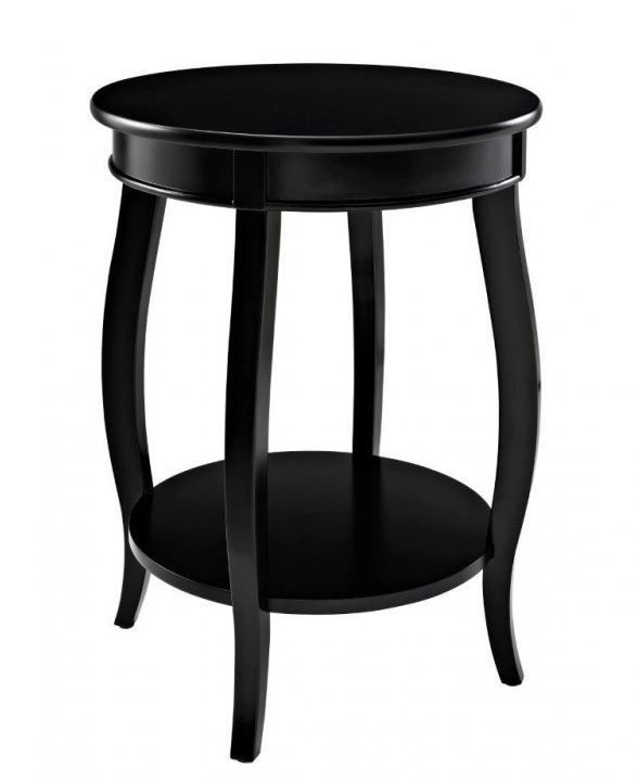 Picture of Rainbow Black End Table