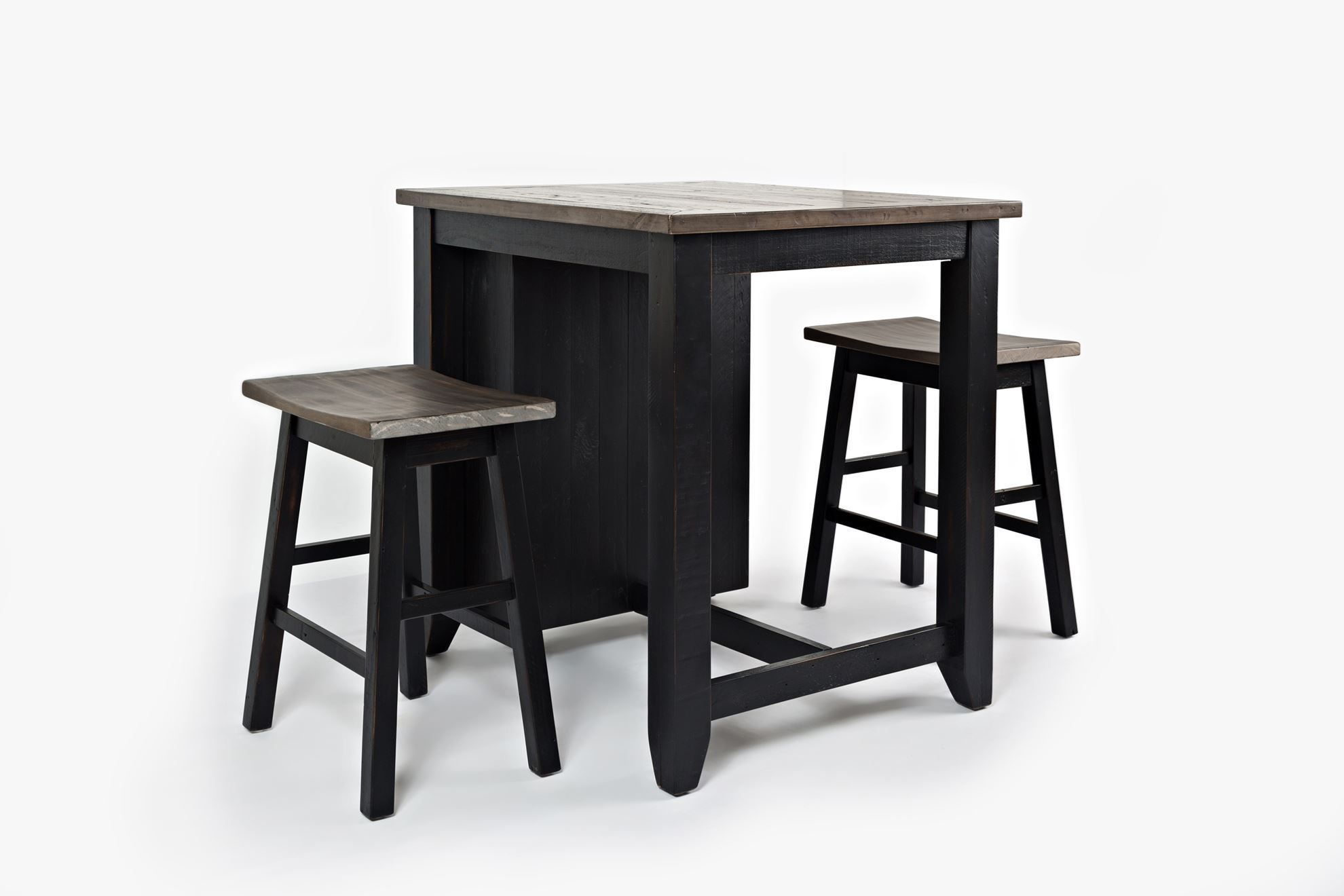 Picture of Madison Black Three Piece Counter Set