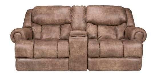 Picture of Arizona Beige Power Console Loveseat