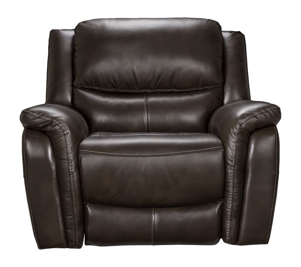 Picture Of Todd Charcoal Power Lumber Recliner