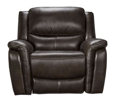 Todd Charcoal Power Lumber Recliner