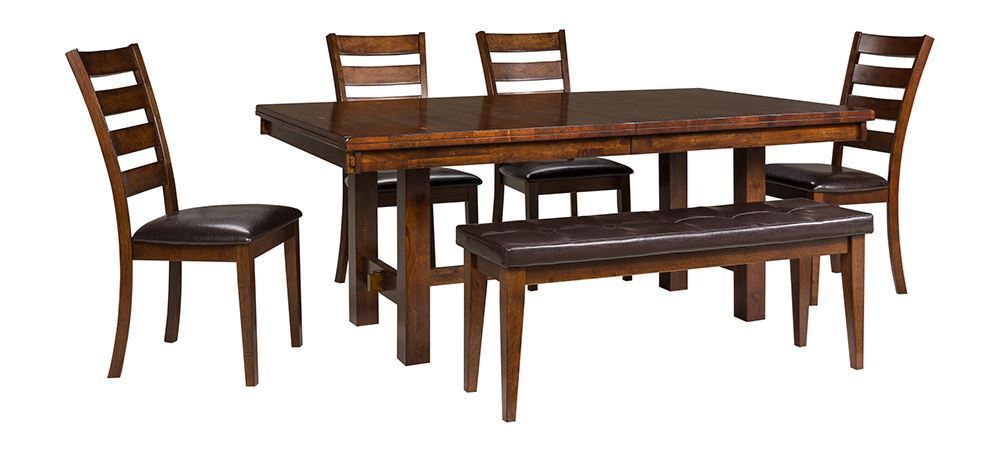 Picture of Kona 92 Inch Table with Four Chairs and Bench