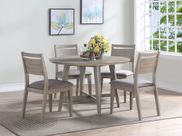 Ana Round Table with Four Chairs