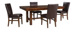 Kona 92 inch Table with Four Parson Side Chairs