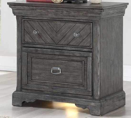 Picture of Gray Nightstand