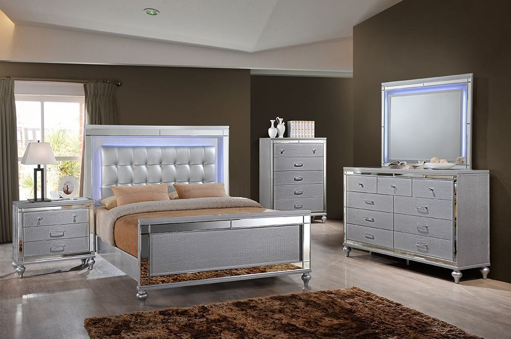 Picture of Valentino Queen Bed Set