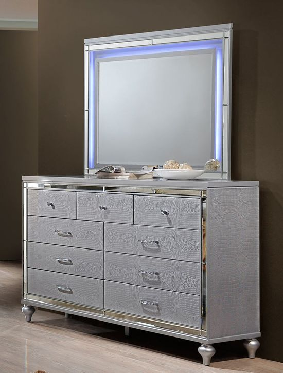 Picture of Valentino Dresser and Mirror Set