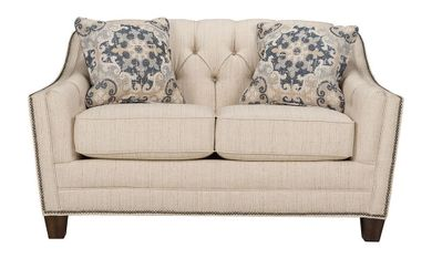 Dorea Cream Loveseat