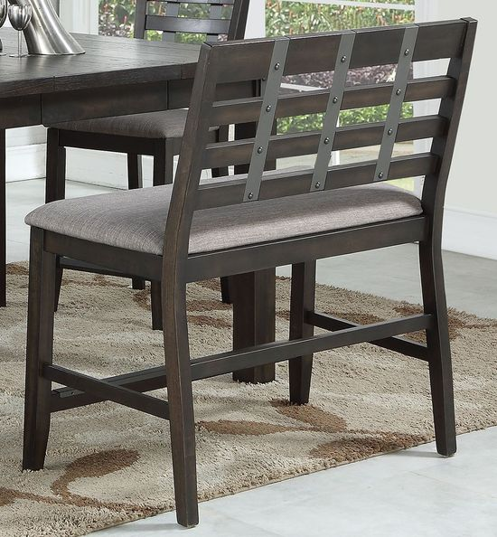 Picture of Astrid Ladder Back Counter Bench