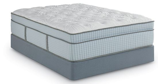 Picture of Restonic Scott Living Argyle Luxury Plush Euro-Top Full Mattress Set
