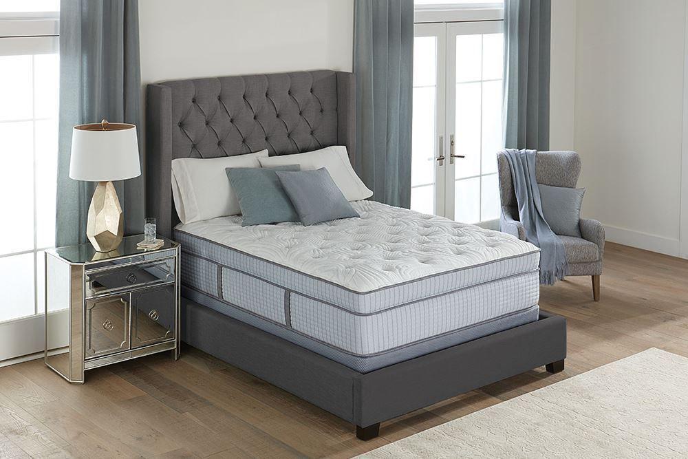 Picture of Restonic Scott Living Argyle Luxury Plush Euro-Top Queen Mattress Set