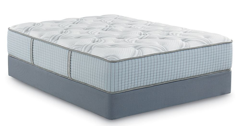 Picture of Restonic Scott Living Artisan Luxury Plush Queen Mattress Set