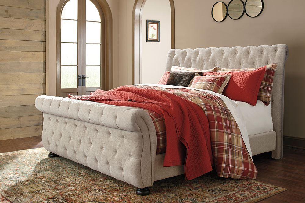 Picture of Willenburg King Upholstered Bed Set