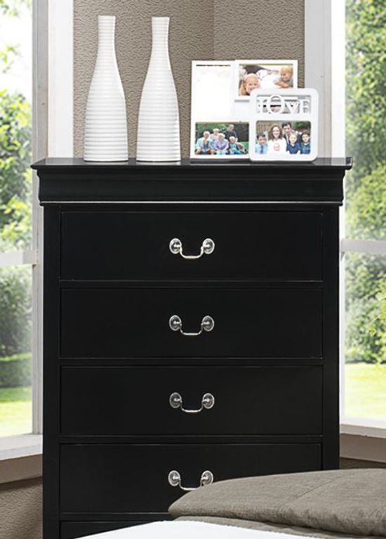 Picture of Louis Black Chest