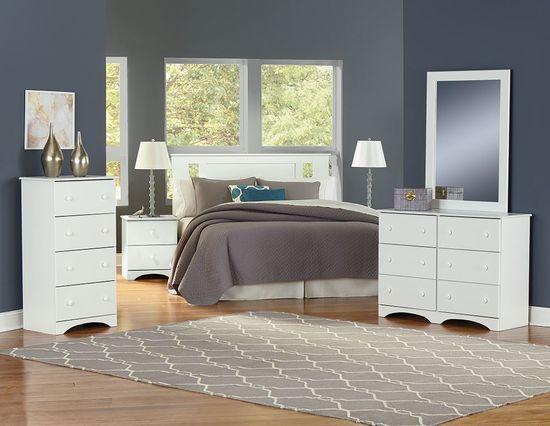 Picture of Essential White Dresser