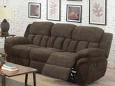 Santorini Conran Chocolate Reclining Sofa