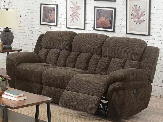 Picture of Santorini Conran Chocolate Reclining Sofa