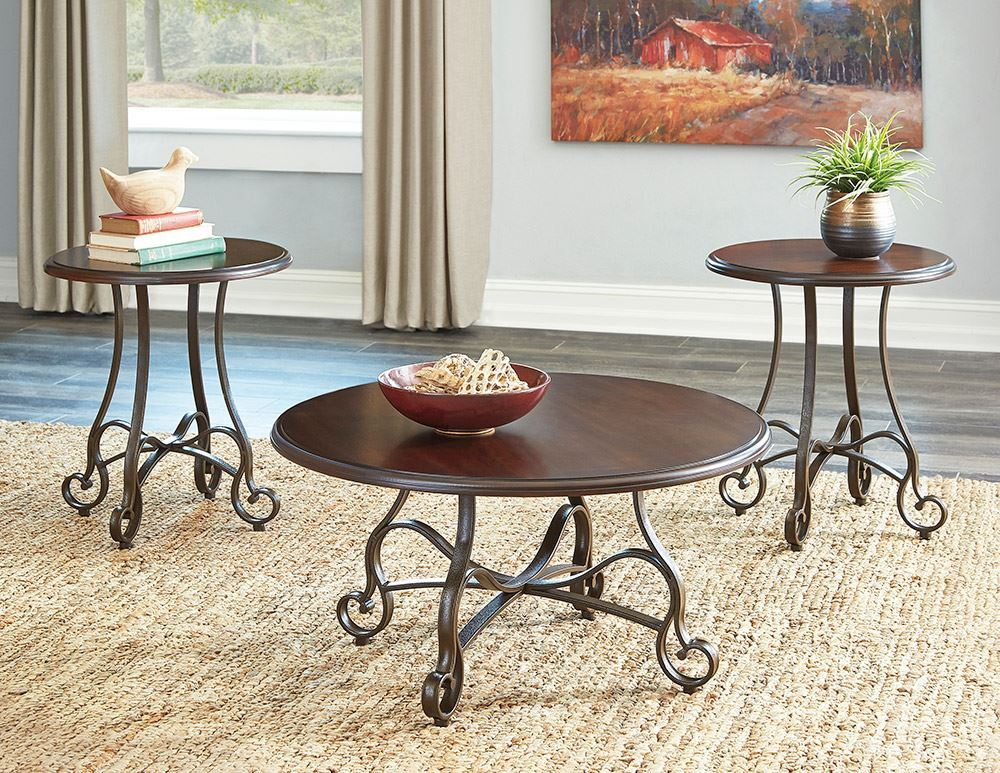 Picture of Carshaw Brown 3 Pack Tables