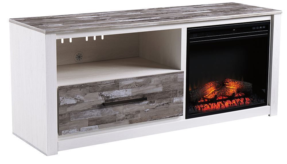 Picture of Evanni TV Stand with Fireplace Insert