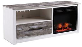 Evanni TV Stand with Fireplace Insert