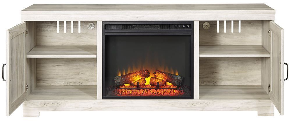Picture of Bellaby TV Stand with Fireplace Insert
