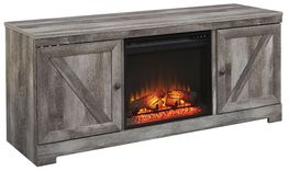 Wynnlow TV Stand with Fireplace Insert