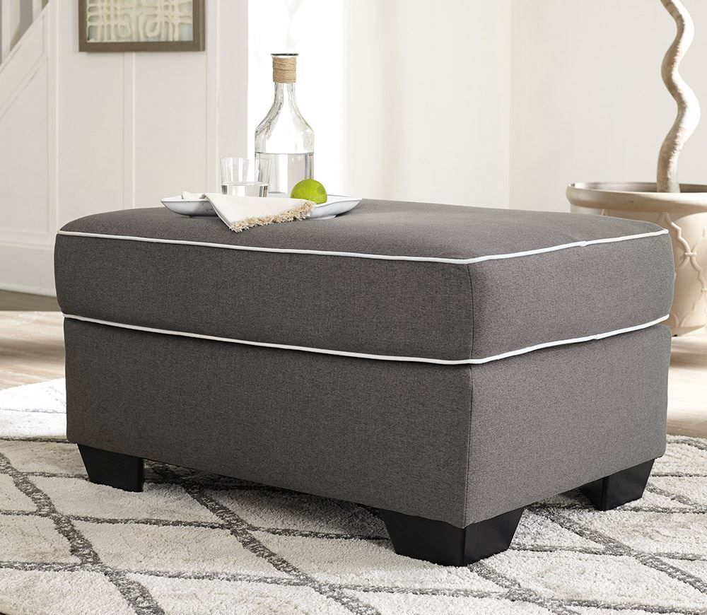 Picture of Domani Charcoal Ottoman