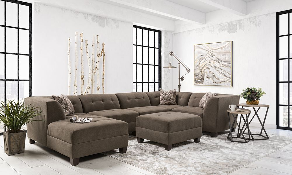 Picture of Caprice Grey Five Piece Sectional