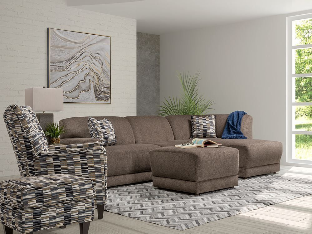 Picture of Cornell Pewter Two Piece Sectional