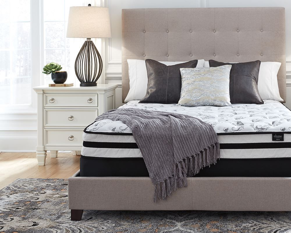 Picture of Ashley Chime 8 Inch Innerspring Queen Mattress Set