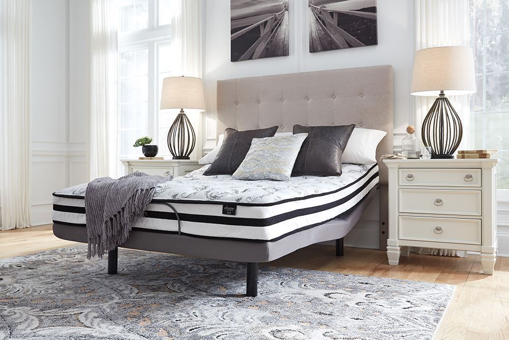 Picture of Ashley Chime 8 Inch Innerspring Adjustable Head Queen Mattress Set