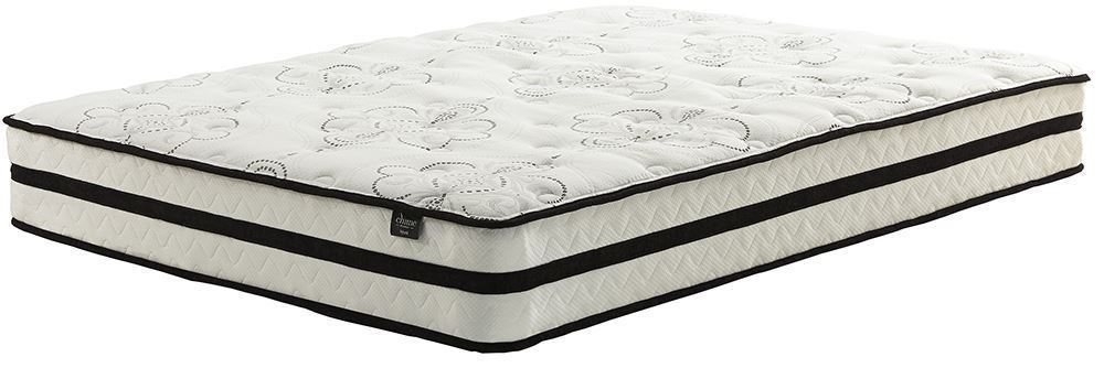 Picture of Ashley Chime 10 Inch Hybrid Adjustable Head Queen Mattress Set