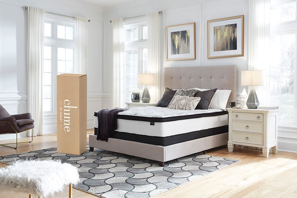 Picture of Ashley Chime 12 Inch Hybrid Twin Mattress Set