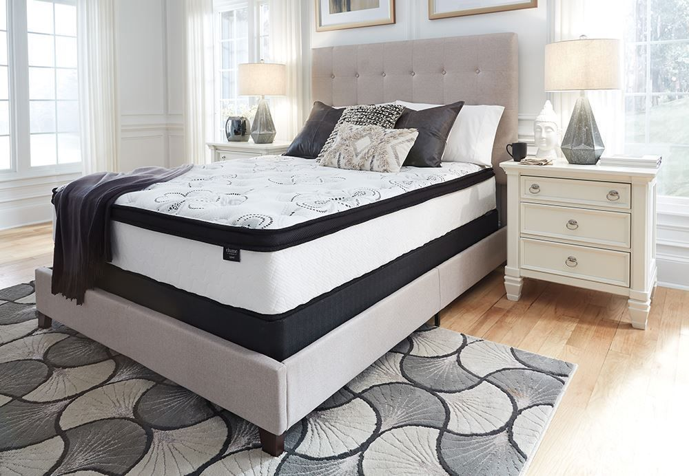 Picture of Ashley Chime 12 Inch Hybrid Queen Mattress Set