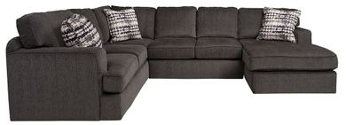 Perth Smoke Three Piece Sectional