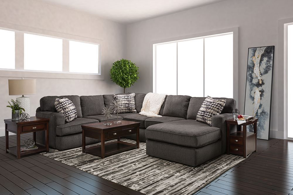 Picture of Perth Smoke Three Piece Sectional