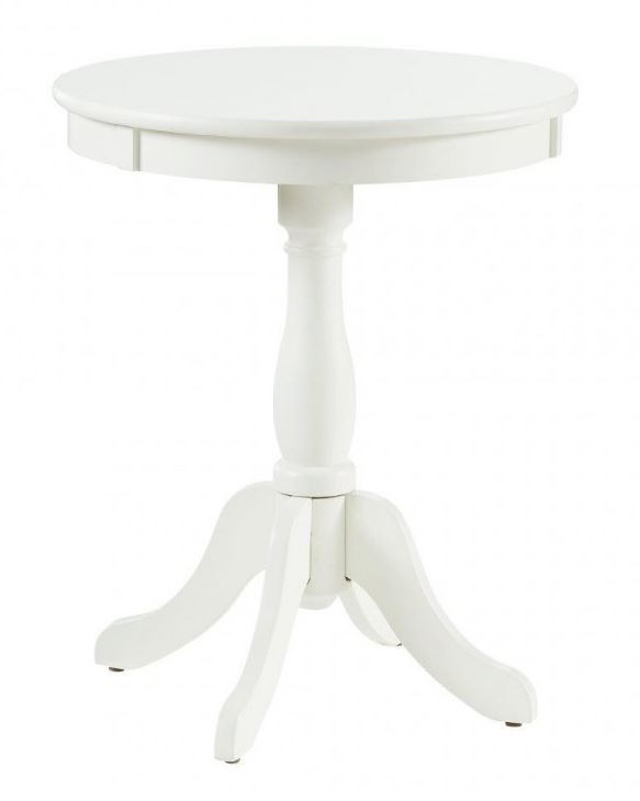 Picture of Palmetto White Accent Table
