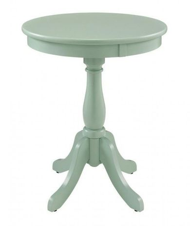 Palmetto Aqua Accent Table