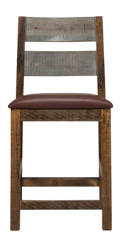 Pine 24 inch Counter Stool