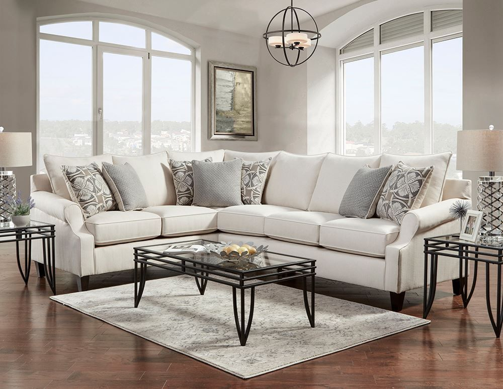 Picture of Bay Ridge Cream Two Piece Sectional