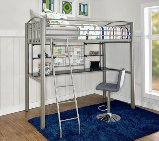 Picture of Heavy Metal Twin Loft Bed