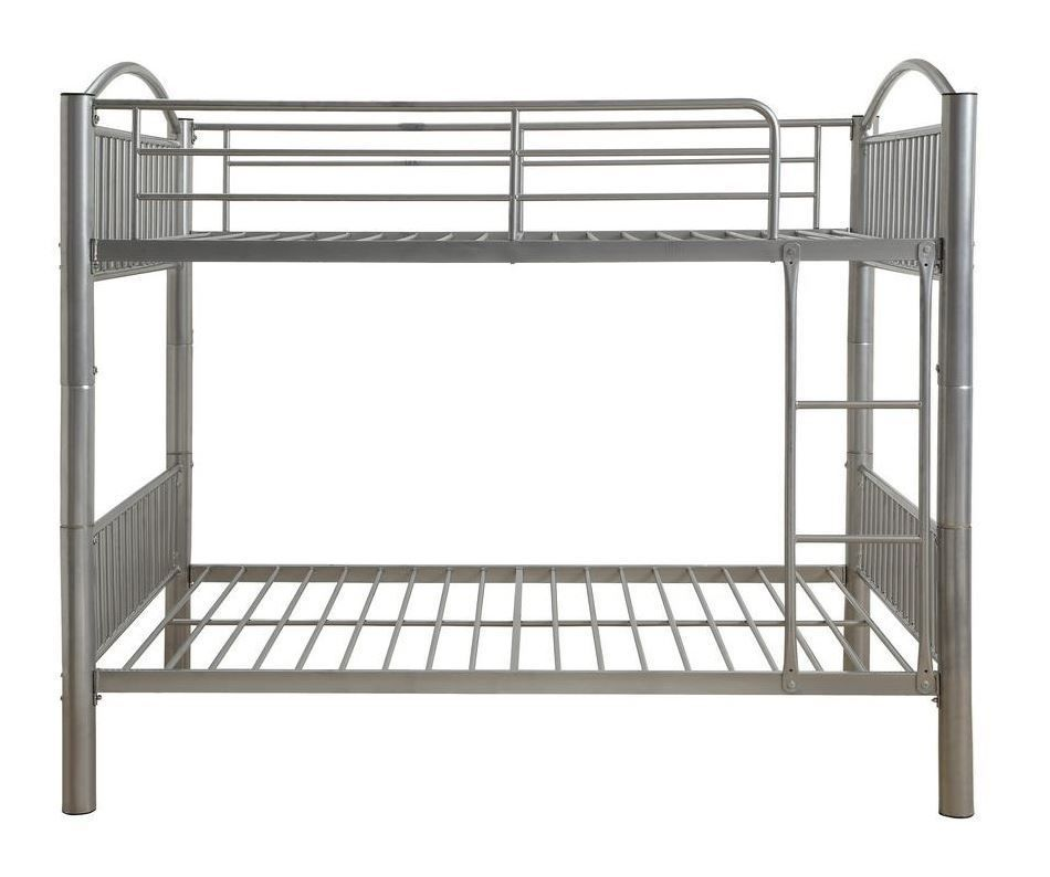 Picture of Cayelynn Full over Full Silver Metal Bunk Bed